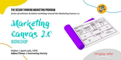 ONLINE Workshop - The Marketing Canvas 2.0 tickets