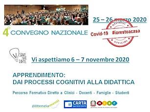 4° Convegno Nazionale Potenziamenti, 6 - 7  novembre 2020 biglietti