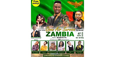 OPEN AIR SERVICE ZAMBIA WITH MARTIN PK tickets