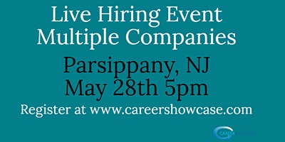 LIVE+HIRING+EVENT+May+28%2C+2020+Parsippany%2C+NJ