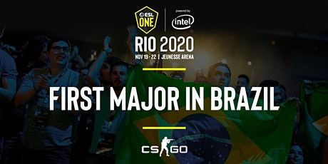 ESL One Rio 2020 CS:GO Major ingressos