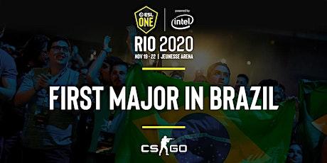 ESL One Rio 2020 CS:GO Major ingressos