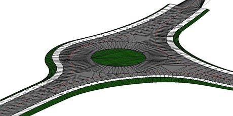 Roundabout design using Bentley Openroads Designer tickets
