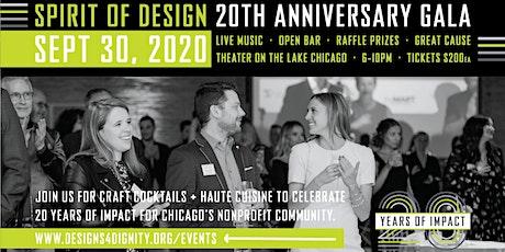 Spirit of Design 20th Anniversary Gala tickets