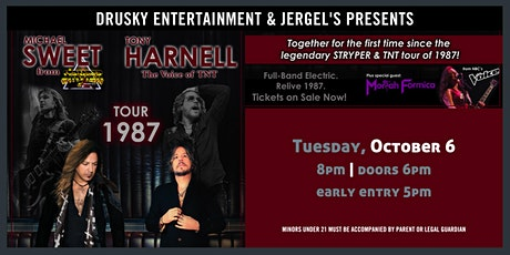 Michael Sweet & Tony Harnell - Tour 1987 tickets