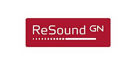 """Webminar """"Programación de generadores de sonido ReSound para terapias de Tinnitus"""" entradas"""
