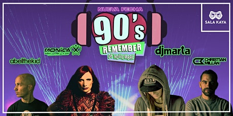 Fiesta Remember - Sala Kaya (Madrid) entradas