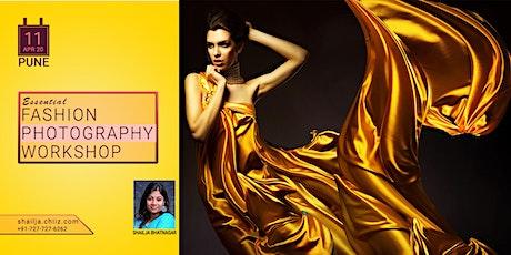 Essential Fashion Photography Workshop - Pune tickets