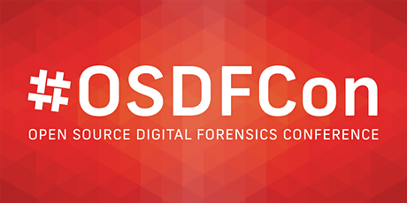 2020 Open Source Digital Forensics Conference (#OSDFCon) tickets