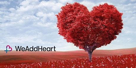 We Add Heart - Online tickets