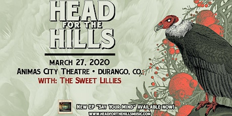 Head for the Hills make up date tickets