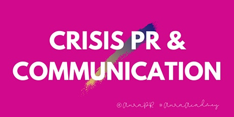Crisis PR and communication for beginners or a refresh tickets