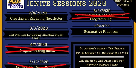 Newark Thrives! IGNITE Sessions 2020 tickets