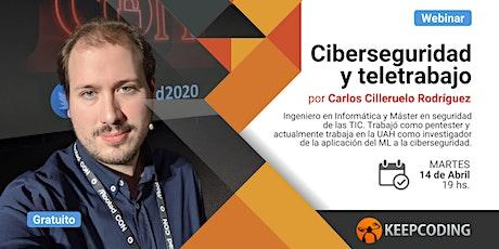 Webinar: Ciberseguridad y teletrabajo entradas