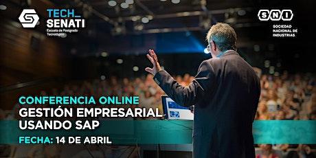 Conferencia: Gestión Empresarial usando SAP (Online) boletos