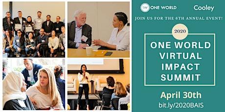 ONE WORLD Virtual Impact Summit  ingressos