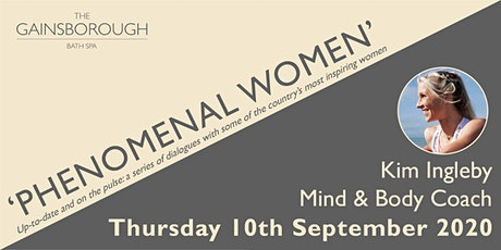 'Phenomenal Women' 2020: Kim Ingleby tickets