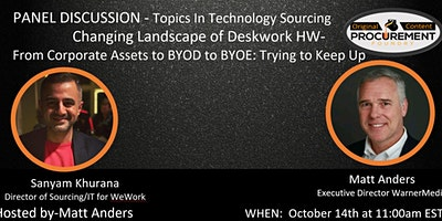 Topics in Technology – Changing Landscape of Deskwork HW