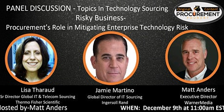Topics In Technology Series - Risky Business tickets