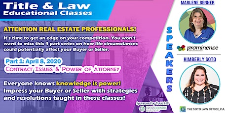 Title & Law Educational Class: Part 1 tickets