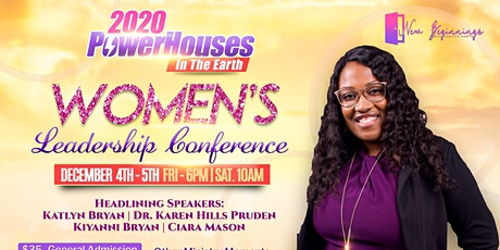 2020 Powerhouses in the Earth! Women's Leadership Conference! tickets