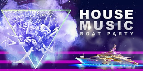 NYC #1 House Music Night - Friday Night Boat Party - Manhattan Yacht Cruise tickets