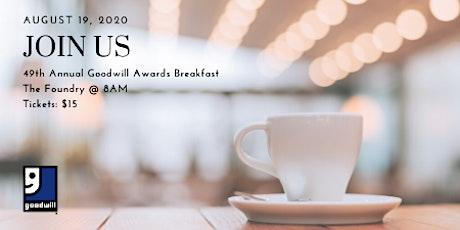 49th Annual Goodwill Awards Breakfast tickets