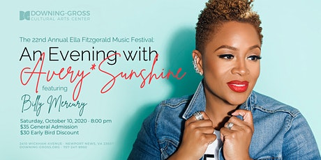 An Evening with Avery*Sunshine - Ella Fitzgerald Music Festival 2020 tickets