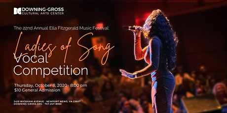 Ladies of Song Vocal Competition 2020 - Ella Fitzgerald Music Festival tickets