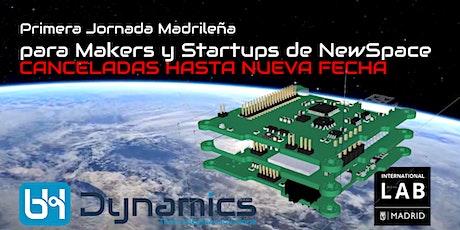 Primera Jornada Madrileña para Makers y Startups de NewSpace tickets