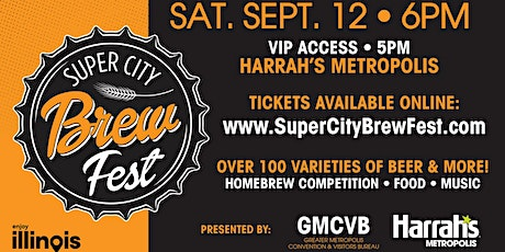 2nd Annual Super City Brew Fest tickets
