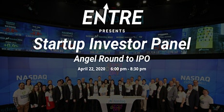 Startup Investor Panel  (Angel Round to IPO) - Online Event tickets