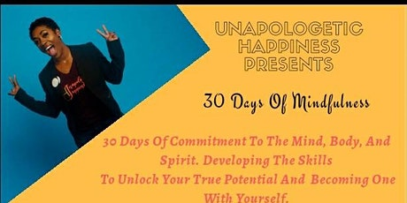 30 Days Of  Mindfulness tickets