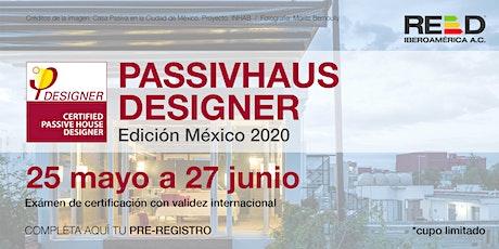 Curso oficial Passivhaus Designer Mexico 2020 entradas