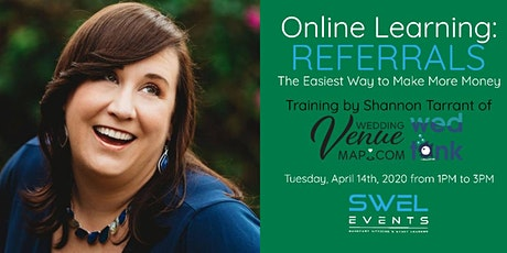 Online Learning: Referrals (The Easiest Way to Make More Money) tickets
