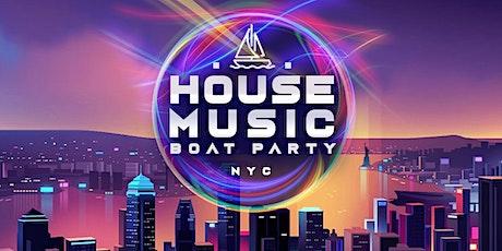 NYC #1 House Music Night - Saturday Night Boat Party - Manhattan Yacht Cruise tickets