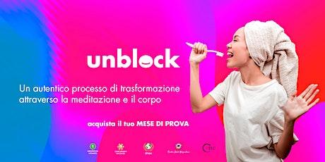 Unblock: Muoversi verso i propri Talenti - MESE di PROVA tickets