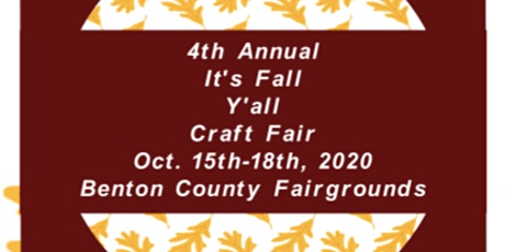 It's Fall Y'all Craft Fair entradas
