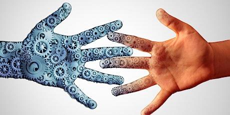 Conferencia Virtual: Ética y Tecnología - ¿La máquina remplazará al hombre? entradas