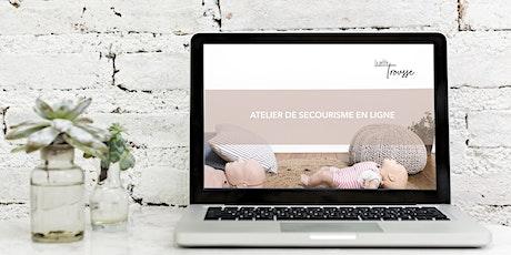Atelier de secourisme en ligne ! billets