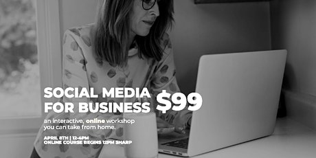 Social Media for Business-Instagram and Facebook Basics tickets
