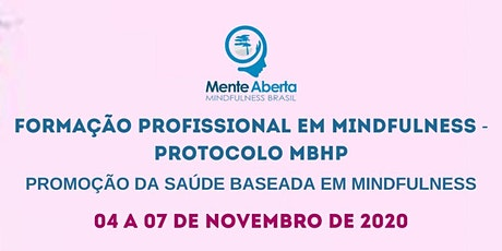 FORMAÇÃO PROFISSIONAL EM MINDFULNESS - MBHP ingressos
