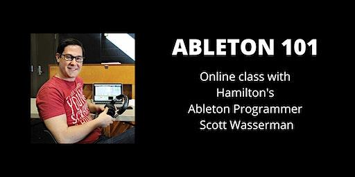 Ableton 101: A Live Online Class