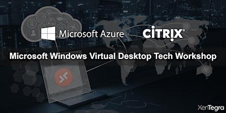 Online: Microsoft WVD Tech Workshop (07/23/2020) tickets