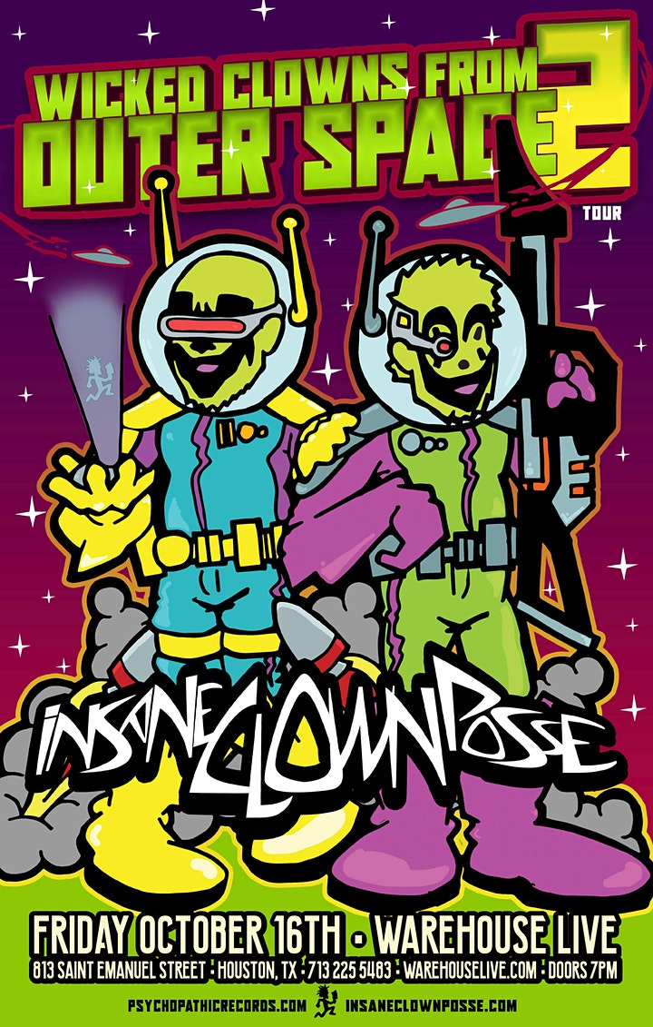 CANCELLED: INSANE CLOWN POSSE image