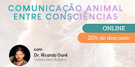 Curso Inicial Comunicação Animal entre Consciências - 18 e 19 de abril - online ingressos