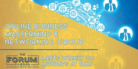 Business Mastermind & Networking Group tickets