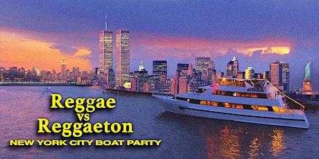 Reggae vs Reggaeton Boat Party NYC Yacht Cruise: Saturday Night Dance Off tickets