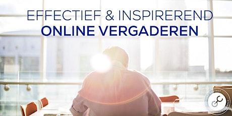 Effectief en Inspirerend Online Vergaderen tickets