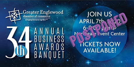 POSTPONED: 34th Annual Business Awards Banquet tickets